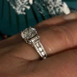 Jewerly TV brand Jewelry - ❤️ Sold-1.70Ct Strontium Titanate Ring,  Size 7